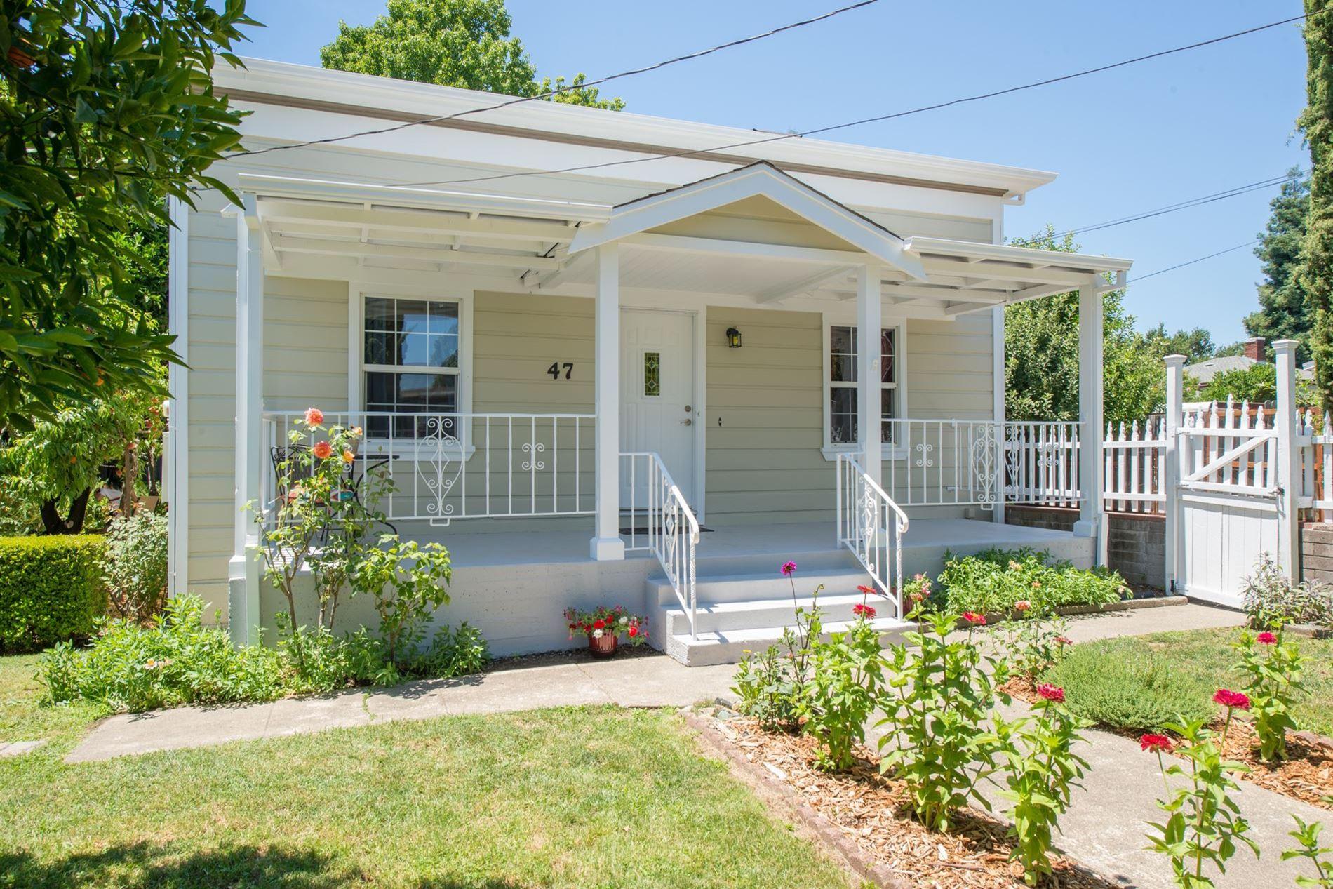 Ward Street Healdsburg Home