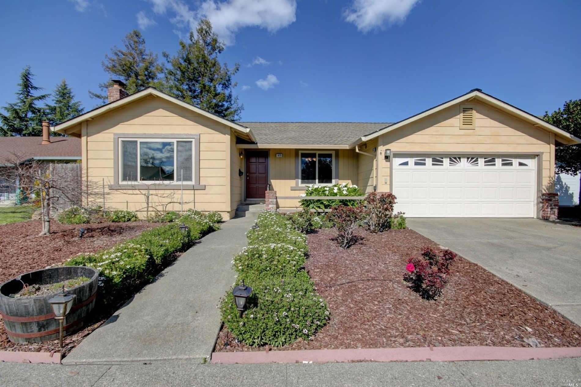San Rafael Drive Petaluma Home