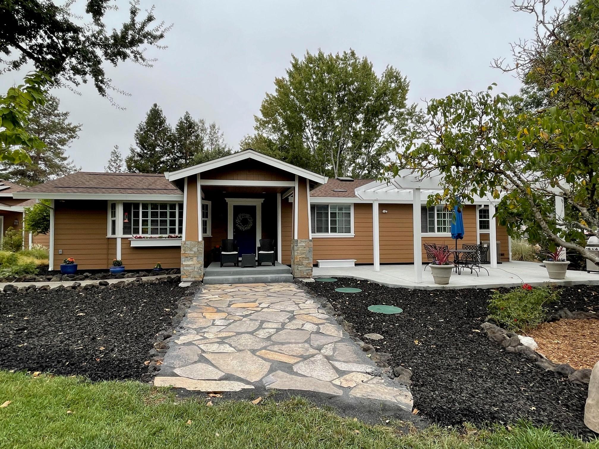 1835 Willowside Santa Rosa Home